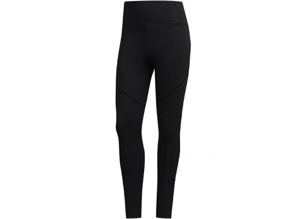 Naisten treenileggingsit Adidas D2M Branded High Ride 7/8 W FL9220