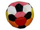 Детский пёстрый кресло-мешок Футбол 40 л