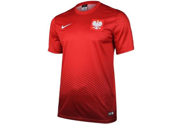 Lasten jalkapallopaita Nike Polska Youth Away Supporters Tee Junior 846807-611