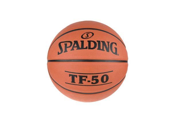Koripallo ulkona pelaamiseen Spalding TF 50 koko 5