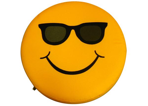 Laste istumispadi Smiley Glasses