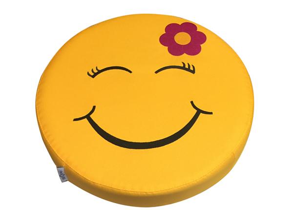 Laste istumispadi Smiley Flower, 6 tk