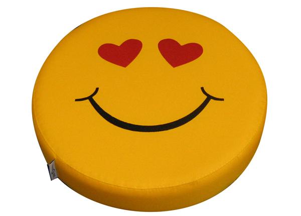 Laste istumispadi Smiley Hearts, 6 tk