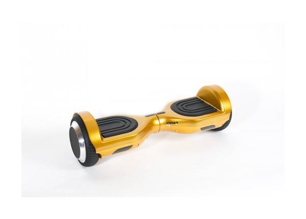 Электрический балансировочный 6D золотистый
