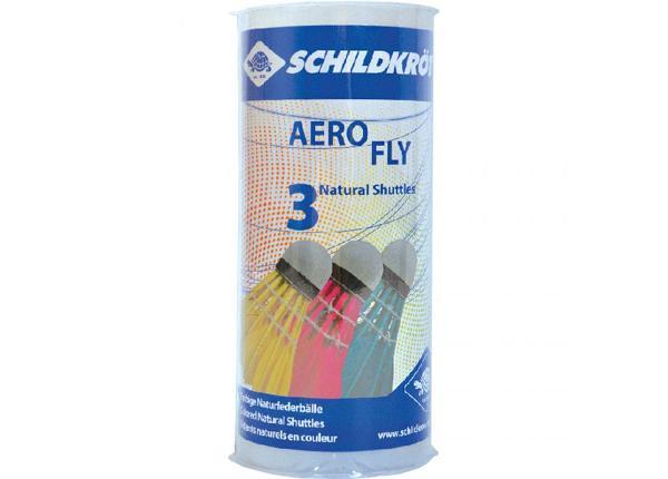 Воланы для игры в бадминтон Schildkrot Aero Fly 3 шт
