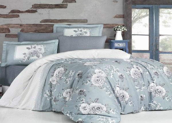 Satiinist voodipesukomplekt Kenzo V2 Turguaz 200x220 cm