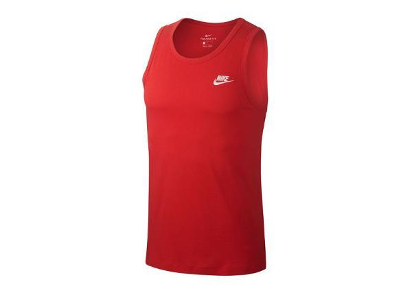 Miesten hihaton paita Nike NSW Club Tank M BQ1260-657