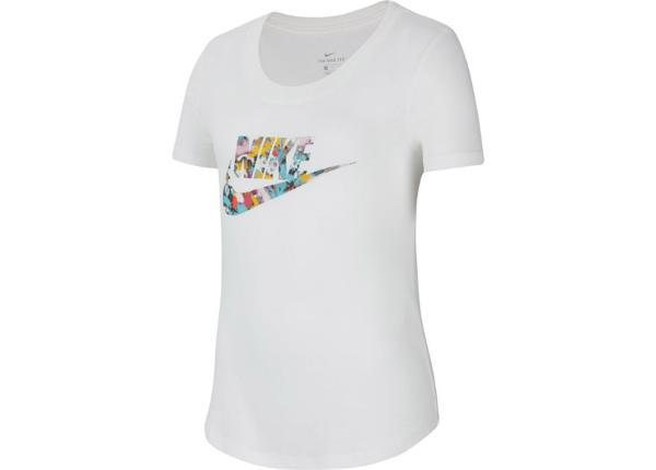 Lasten T-paita Nike NSW G Tee Scoop Futura Junior CZ1245-100