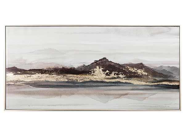 Öljymaalaus Vuoristo 50x100 cm
