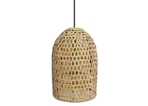 Rottinkinen lampunvarjostin Bali-2