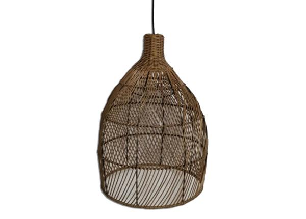 Rottinkinen lampunvarjostin Bali-4