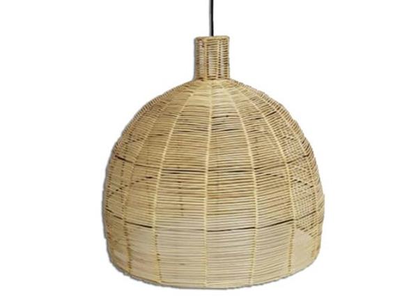 Rottinkinen lampunvarjostin Bali-6