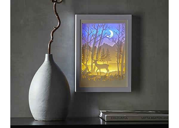 LED-valaistu sisustustaulu Scenery