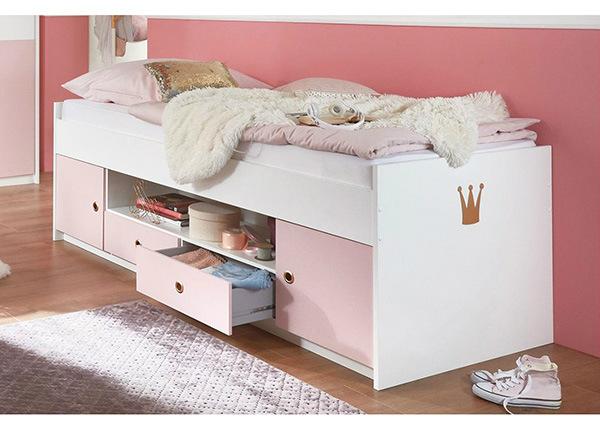 Sänky säilytystilalla Cindy 2 90x200 cm