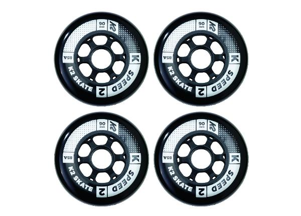 Комплект колес для роликов K2 Speed 90 мм 4 шт
