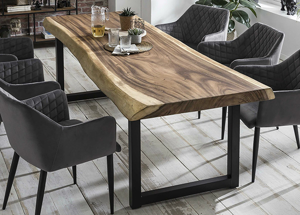 Ruokapöytä Tische 100x250 cm