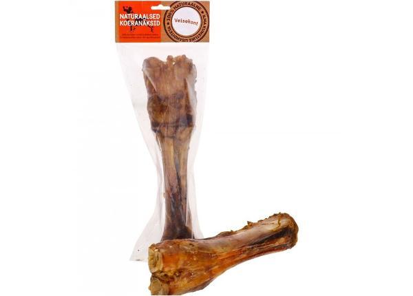Naturaalne koera maius veise jalg 25-30 cm
