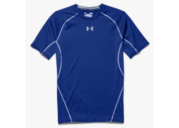 Мужская компрессионная футболка Under Armour HeatGear Compression Shortsleeve M 1257468-400 размер M