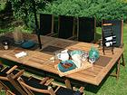 Jatkettava puutarhapöytä FUTURE 110x210-300 cm