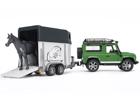 Land Rover Maastikuauto koos hobusetreileriga KL-37625