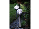 Комплект садовых светильников с солнечной панелью 2 шт