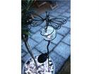 Садовый светильник с солнечной панелью Бабочка LED