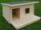 Lämpöeristetty koirankoppi+terassi LEXA TN-39080