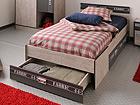 Кровать Fabric 90x200 см с ящиком кроватным