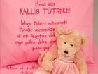 Beebide voodipesukomplekt roosa