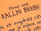 Детский комплект постельного белья оранжевый VÄ-41924