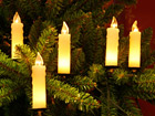 Свечи на ёлку