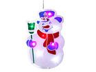 Jõulukaunistus aknale lumememm AA-44136