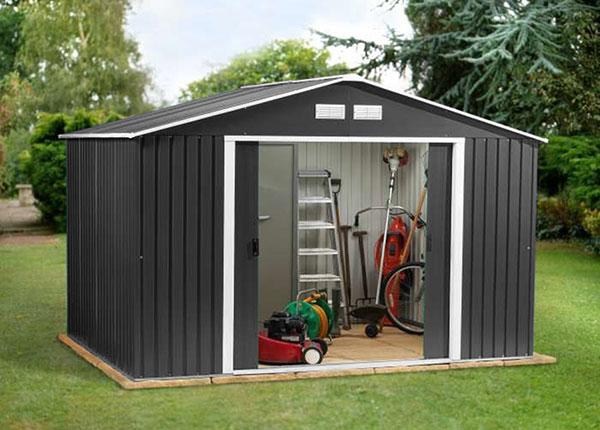 Metallinen puutarhavaja 7,4 m²