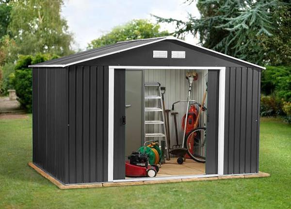 Metallinen puutarhavaja 10,2 m²