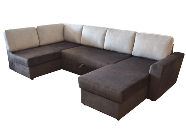 Угловой диван-кровать Arabella с двумя ящиками