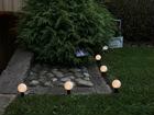 Садовый светильник с солнечной панелью 2in1