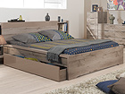 Sänky BROOKLYN 140x200 cm tammi