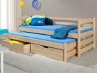 Lasten sänkysarja 2-osainen MARC, mänty 80x180 cm
