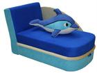 Pesukastiga diivanvoodi Delfiin