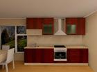 Baltest keittiö Luisa PLN 300 cm AR-52704