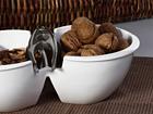 Pähkinäkulho ja pihdit COCINA SG-56354
