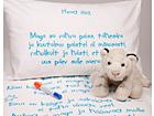 Laste voodipesukomplekt poisile + tekstiilimarker