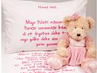 Постельное белье для девочки + текстильный маркер VÄ-56480