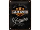 Металлический постер в ретро-стиле Harley-Davidson Motorcycles 15x20 см SG-57110