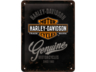 Retro metallijuliste Harley-Davidson Motorcycles 15x20 cm SG-57110