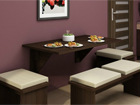 Klaffipöytä 70x130 cm