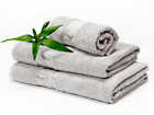 Комплект бамбуковых полотенец, серый