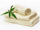 Комплект бамбуковых полотенец, слоновая кость