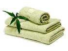 Комплект бамбуковых полотенец, оливковый
