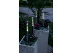 Садовые светильники с солнечной панелью, 4 шт